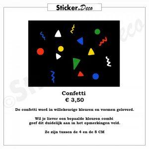 Carnaval Confetti Feest Verjaardag