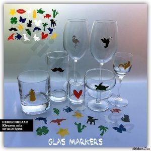 Glasmarkers