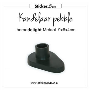 HD kandelaar pebble