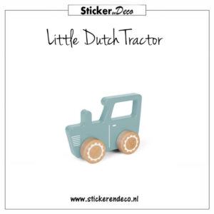 Little Dutch Tractor Sticker en Deco