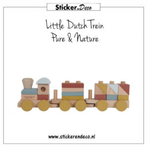 Little Dutch Trein Pure Nature Sticker en Deco