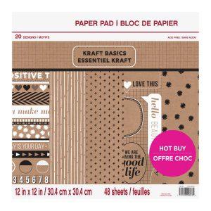 Craft Smith heeft mooie en luxere designs. 48 Vellen karton. Enkelzijdig gedrukt. 30,5 x 30,5 cm.