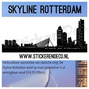 Skylines Raamstickers